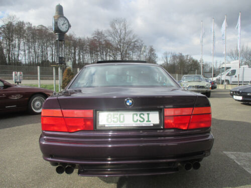 voiture bmw 850 occasion de 1993 pour 60000. Black Bedroom Furniture Sets. Home Design Ideas
