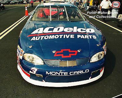 DALE EARNHARDT JR WINS AT RICHMOND 1999 #3 CHEVY NASCAR BUSCH SERIES 8X10 PHOTO