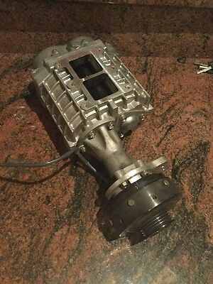 Supercharger Model TX07 H1-2 Made In Japan