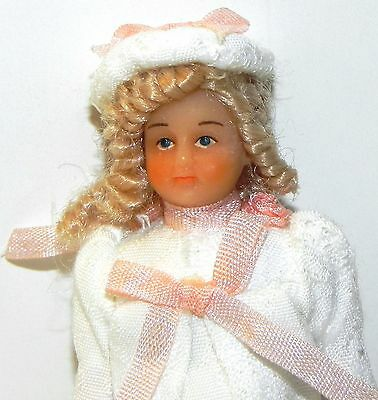 Dollhouse Miniature Doll Sister Girl Sophie Drummond Vinyl SD0005  1:12