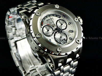 Invicta Reserve 52mm Specialty Subaqua Swiss 8040N Retro Chronograph SS Watch