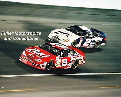 DALE EARNHARDT JR WINS THE WINSTON vs RUSTY WALLACE 2000 8X10 PHOTO NASCAR CUP