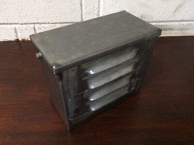 Custom Louvred Battery Box For Chop, Chopper, Custom, Bobber, Street fighter .