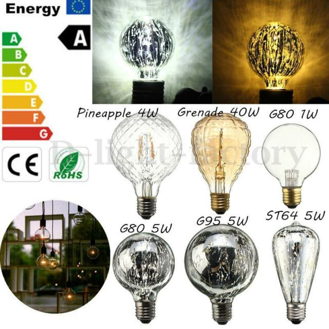 Edison light collection on ebay - Ampoule e27 40w ...