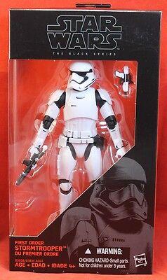 "Star Wars Black Series 6"" First Order Stormtrooper"