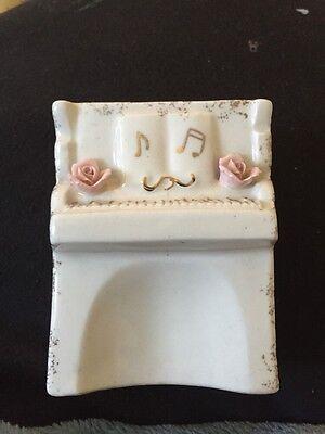 Piano Shaped Miniature Vase