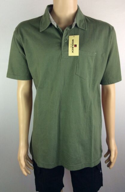 Woolrich Short Sleeve Cypress Polo Shirt. Size L