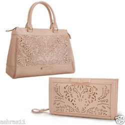 Oriflame Crystal Perforated Hand Bag and Wallet Combo