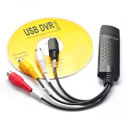 USB 2.0 Easier CAP DC60-007 Analog signal Audio  video easy Capture card