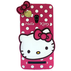 MACC Soft Cartoon Cover Case Silicon 3D For Asus Zenfone 5